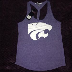 Chicka-d College tank Top. NWT
